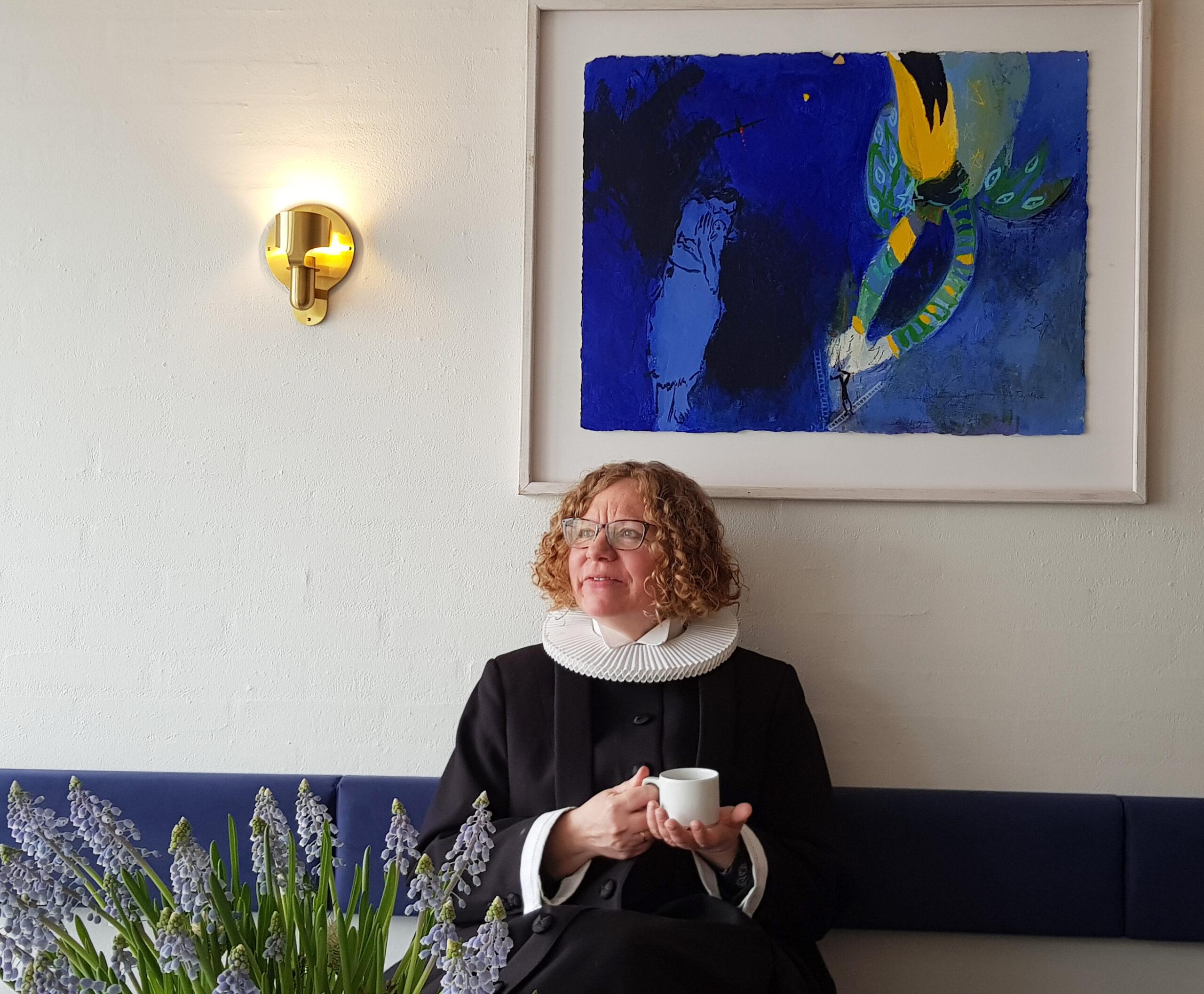 Charlotte Bondo Gravesen fra Solrød Strandkirke.